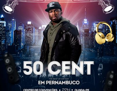 Animação - Flyer 50 Cent