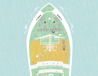 Cover illustration for TUMSAT