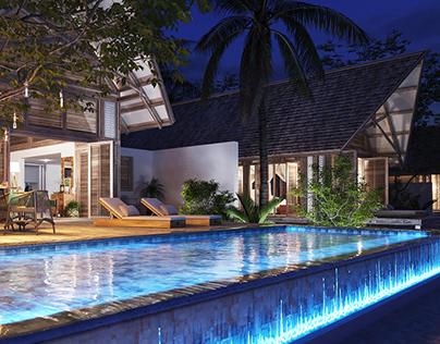 Private Beach Villa, Mozambique