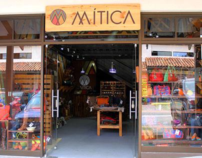 Diseño Tienda Comercial Mítica.