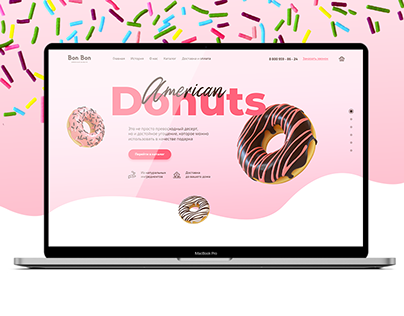 American Donuts - UI/UX Design