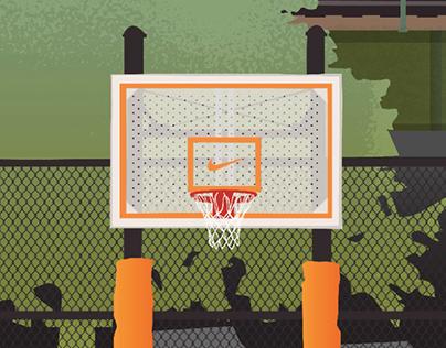 Nike Basketball NYC Posters