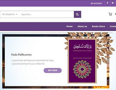 Books E-commerce Site