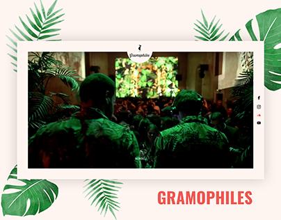 Tropical landing page - Gramophiles