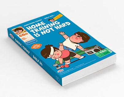 CarryGrow Comics book cover design