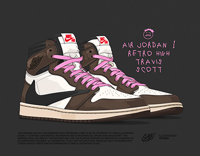 Air Jordan 1 Retro High Travis Scott
