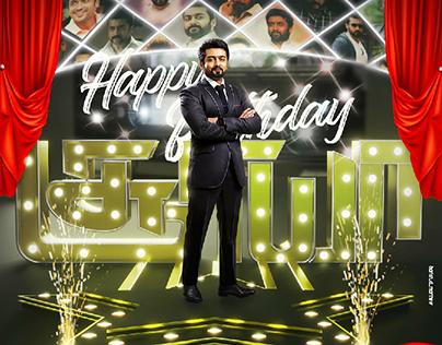 Special Birthday poster for Suriya Sivakumar😎