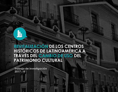 2017 - Revitalization of historical centres