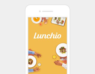 Lunchio [Responsive website]