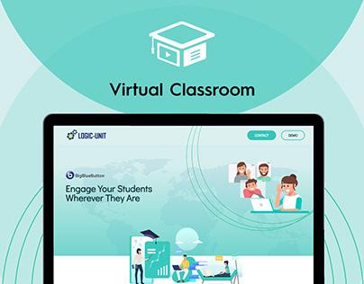 Logic-Unit Online Education Tools | Website UI