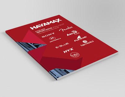Catálogo de Importados Hayamax 2016
