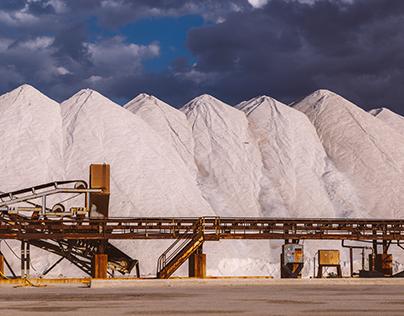 Rarefied, cryptic saltworks