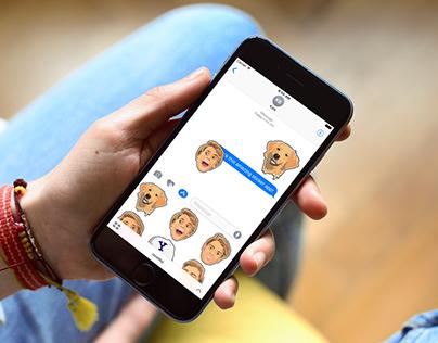 Jace Norman Imessage sticker app.