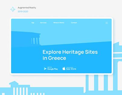 CultureApp Website Design