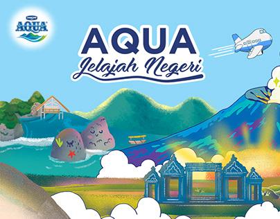 Aqua Jelajah Negeri campaign website