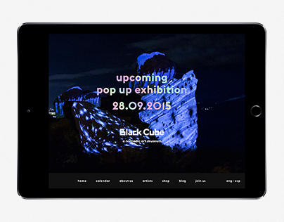 Black Cube Website