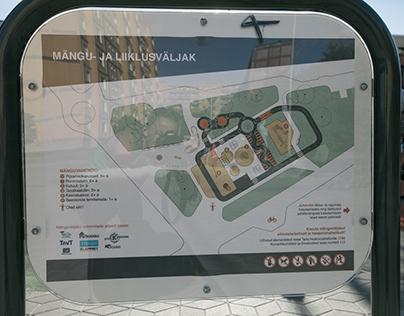Annelinna mänguväljaku plakatite kujundused