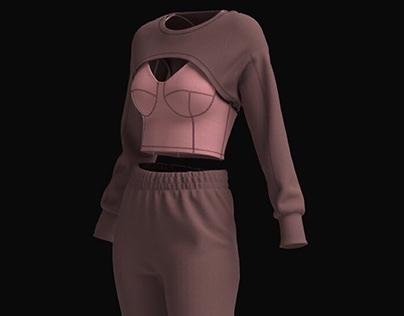 Virtual Garment Design- Athleisure SS'21