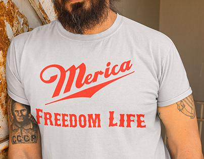 Merica Freedom Life