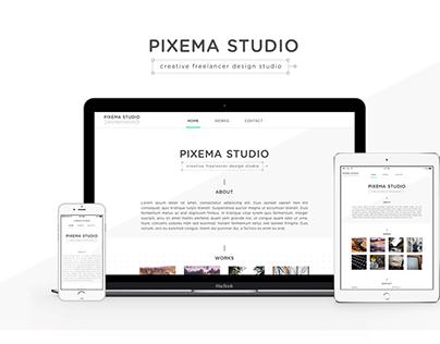 Pixema Studio Responsive Website