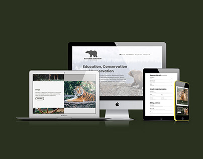 Bear Creek Sanctuary Website Redesign