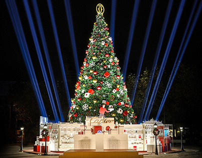 CARTIER Christmas Tree