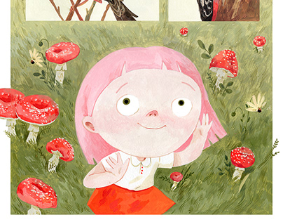 Comic about joyful childhood