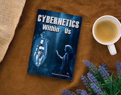 Cybernetics Within Us Book Cover Design