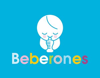Beberones | nursery shop branding