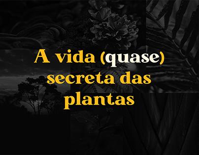 A Vida (quase) Secreta das Plantas