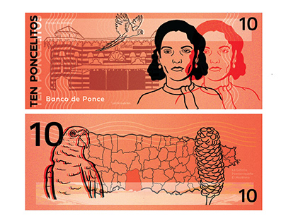 Currency Designs for Ponce, Puerto Rico