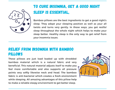 Can Bamboo Pillow Helps cure Insomnia?
