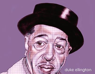 duke ellington illustration