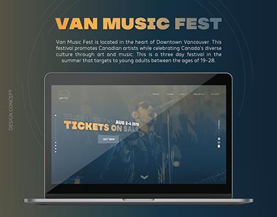 Van Music Fest