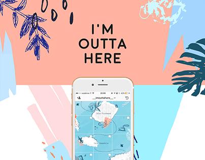 I'm outta here - Instagram Profile