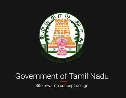 Tamil Nadu Govt Website Redesign