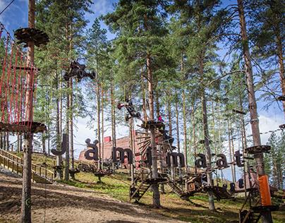 Adventure & Rope Park Jämijärvi (Finland)