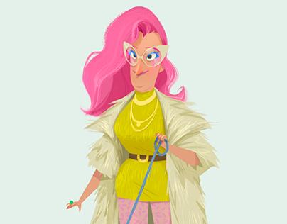 fashionista character design