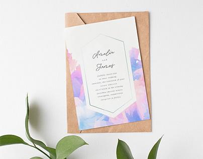 Stationery: Wedding