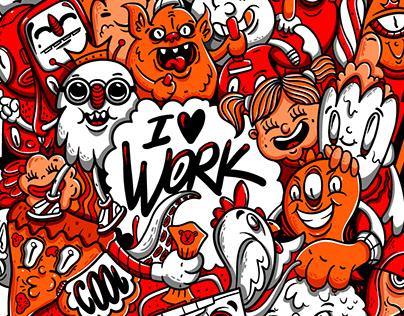 I Work (Doodle)