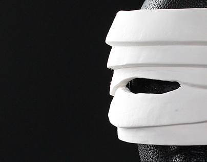 Sculpy Mask: Three-Dimensional Contrast