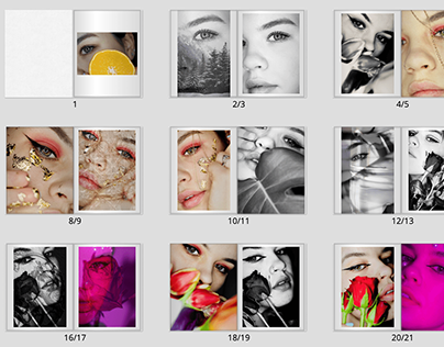 Your Book (Portfolio): Photo-books/ layouts