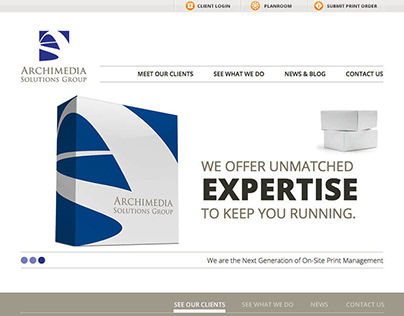Archimedia Solutions Group Website