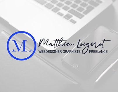 Matthieu Loigerot   Webdesigner Graphiste Freelance