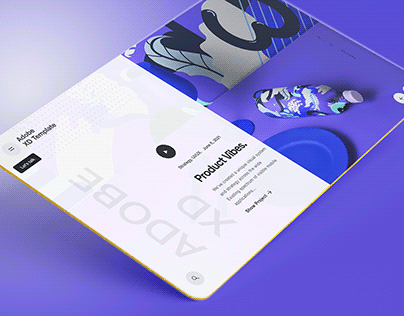 Download Product Adobe XD Template