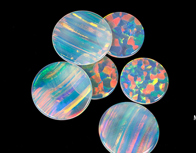 synthetic opal beads manufacturers