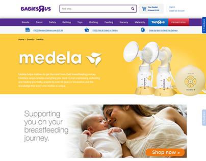Medela Web Content