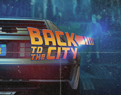 BACK TO THE FUTURE - Inspired Poster