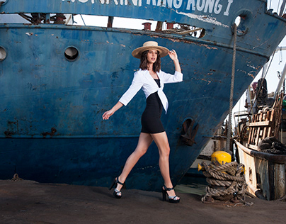 F SHOES SS 19 CAMPAIGN AT MAZATLAN PORT