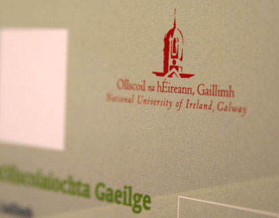 NUI, Galway: Acadamh promotional collateral